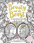 Vill  Gabrielle-Suzanne D-Beauty And The Beast Colouring Book  BOOK NEU