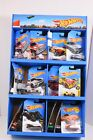 FBC86 9993 MATTEL HOT WHEELS HALF SIDEKICK D2DL 30 HOT WHEEL CARS PER PACK