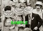 1976 Delagates Wearing JIMMY CARTER SMILE MASKS Photo