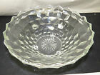 Indiana Glass Whitehall pattern 3 Toed Footed Center Dish Console Bowl