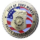 Fort Worth City Texas Police Dept Agent Officer Challenge coin