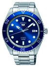 Seiko 5 Sports SRPB89 Automatic 23 Jewels Blue Stainless Steel Watch SRPB89K1