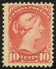 45 10c Small Queen Gorgeous Neat Hinge Remnant FRESH