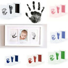 Newborn Baby Safe Inkless Clean Touch Footprint Handprint Ink Pad Photo Souvenir