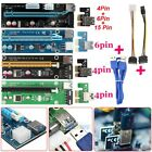 PCI E Express 1x To 16x Extender Riser Card Adapter USB 30 Power Cable Mining