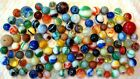 Vintage Antique Marbles ESTATE OLD Lot of 125 Alley Master Peltier MK Akro MORE!