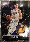2018 Panini Father's Day LONZO BALL Rookie Player Worn Lakers Logo Patch SP 25