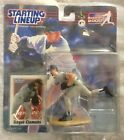 Starting lineup 2000 Roger Clemens with trading card.
