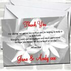 Grey Lily Wedding Thank You Cards