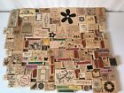 WOOD RUBBER STAMP 14 LOT 126 MISC STAMPS STAMPIN UP+ ALL OCCASIONS