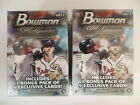 2017 BOWMAN PLATINUM FACTORY SEALED BLASTER 2 BOX LOT