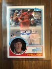 Rhys Hoskins 2018 Topps Series 2 1983 TOPPS ROOKIE AUTO Autograph Phillies RC