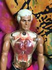 Mattel Pulsar Man Of Adventure Figure Barbie Pumping Heart Lungs 1976 Vintage