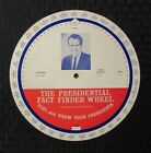 1968 THE PRESIDENTIAL Fact Finder Wheel FVF 7.0 Richard Nixon 8