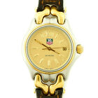 TAG HEUER SO5.413C GOLD DIAL 200M 2-TONE MIDSIZE WATCH FOR PARTS OR REPAIRS