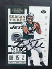 2012 Contenders Tim Tebow Signed Autograph Auto New York Jets and Mets