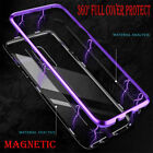 Magnetic Adsorption Metal Tempered Glass Case For Samsung Galaxy S9 S9Plus Cover