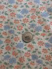 Vintage Fabric Cotton Calico Material Floral Quilting Salvage Dolls Clothes Sew