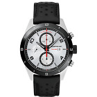 Man watch MONTBLANC TIMEWALKER chronograph automatic silver and black 116100 New