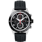 Man watch MONTBLANC TIMEWALKER chronograph automatic silver and black 116096 New