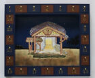 Kurt Adler NATIVITY Scene Magnetic Christmas Nativity Advent Calendar