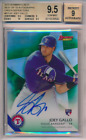 2015 Bowman's Best of '15 Green Refractor 99 Joey Gallo RC BGS 9.5 9 Auto POP 3