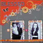 DELUXE Custom pre made 12x12 scrapbook pages