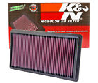 K&N 33-2395 Replacement Panel Air Filter for 2010-2018 Lincoln MKT & MKS V6