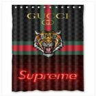 "NEW supreeme 135gucci tiger shower curtain size (60"" x 72"") one side"