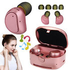 True Wireless Buletooth Headset Headphone With Charging Case For HTC One M9 M8