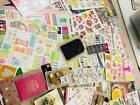 HUGE LOT 55 packages Scrapbooking Stickers and embellishments doodlebug echo ++