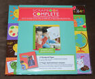New Tapestry 8 x 8 Scrapbook COMPLETE Album 14 Pre Made Pages School Day
