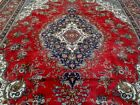 10X14 1940's SPECTACULAR HAND KNOTTED 70+YRS ANTQ SIGNED WOOL TABRIZ PERSIAN RUG