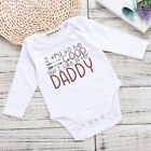 US Stock Newborn Baby Boy Girl Romper Bodysuit Autumn Infant Clothes Outfits