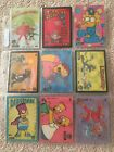 1993 Skybox Simpsons Set Of 9 Cards