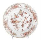 Large 18th Century Antique Chinese Export Porcelain Families Rose Plate