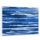 Two Palms Art Bazaar Shred the Blue by Antoni Designs Painting Print on Plaque