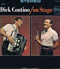 DICK CONTINO On Stage Dot DLP 25602 Vinyl LP 33 Accordion Jazz Album EX Stereo