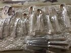 45 Piece  Silverplate Flatware CLASSIC PLUME Never Used Sealed Severs Too