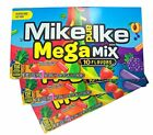 Mike and Ike Mega Mix Chewy Fruit Flavored Candies, 5 oz, Pack of 3