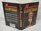 Memories The Autobiography of Ralph Emery 1991 Hardcover Signed