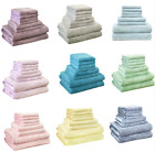Hotel & Spa Towel Set 8 Piece Set - 2 Bath Towel 2 Hand Towel 4 Washcloth Towels