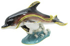 Dolphin  Baby Jeweled Trinket Box with SWAROVSKI Crystals