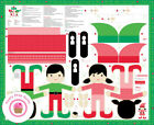 Moda North Pole 20580 11 Doll Panel Stacy Hsu Quilt Fabric Christmas