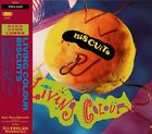 LIVING COLOUR Biscuits RARE JAPAN ONLY CD OBI ESCA 5410 FULL COLOR 44-P BOOKLET