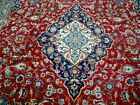 10X13 1940's GORGEOUS AUTHENTIC HAND KNOTTED 70+YRS ANTIQUE KASHAN PERSIAN RUG