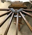 Beauty antique 8 arm drying rack