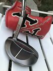 Scotty Cameron RED X5 Putter MINT 34 Black Pistolini Grip  RED X Head Cover