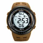 JewelryWe Trendy Large Dial Multifunction Outdoor Sports Student Digital Watch -