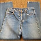 VTG Mens 501 LEVIS Button Fly Blue Jeans Denim Medium Wash 30x32 SEE SIZE NOTES